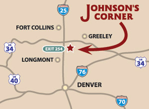 Johnson's Corner Location