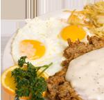 JC Chicken Fried Steak and Eggs