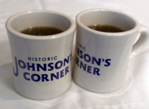Johnson's Corner mugs