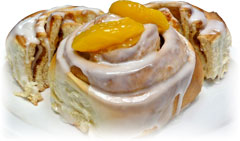 JC Cinnamon Rolls - Peach