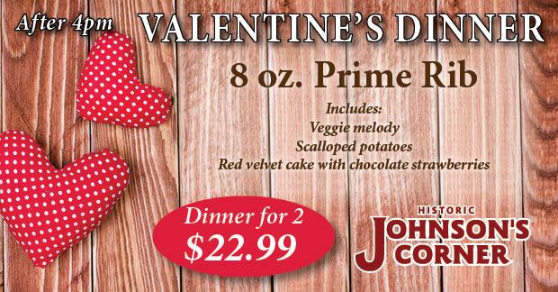 Johnson's Corner specials