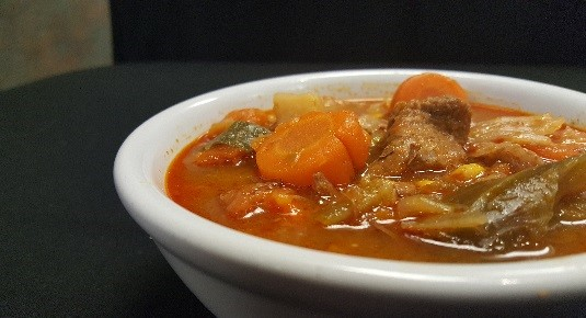 JC Vegetable beef soup